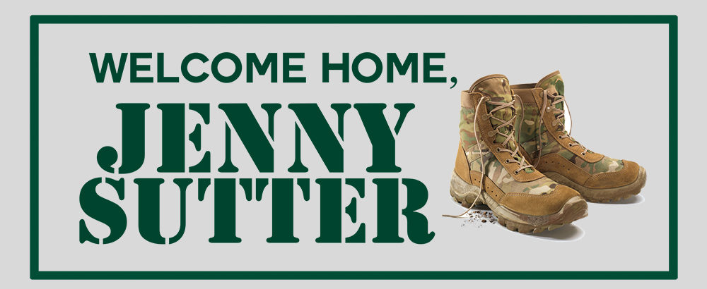 Welcome Home Jenny Sutter